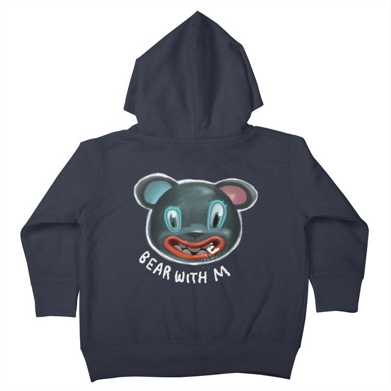 Bear with m Kids Toddler Zip-Up Hoody by fake smile