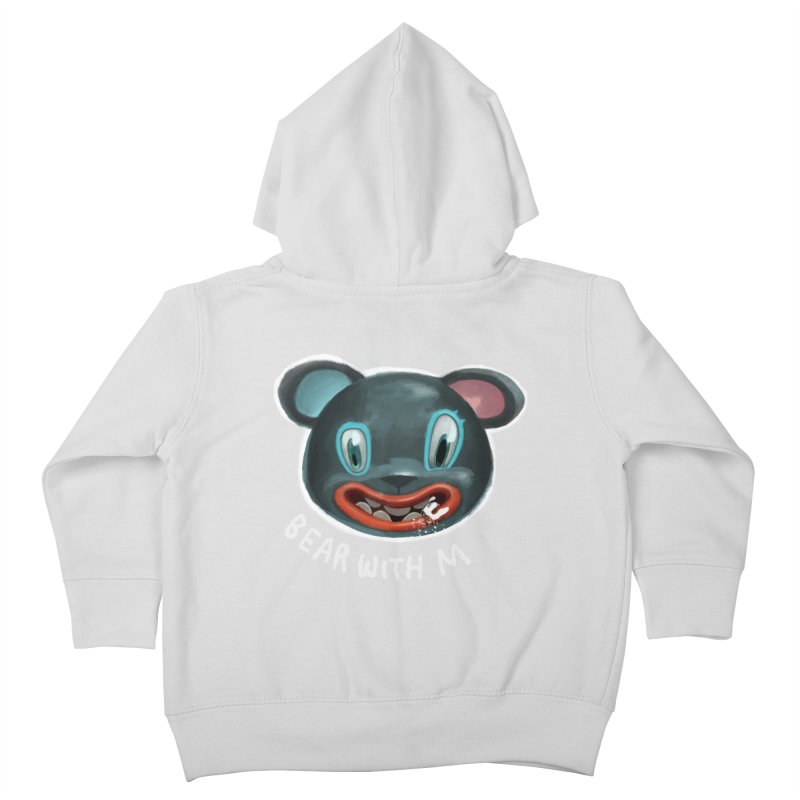 Bear with m Kids Toddler Zip-Up Hoody by fake smile