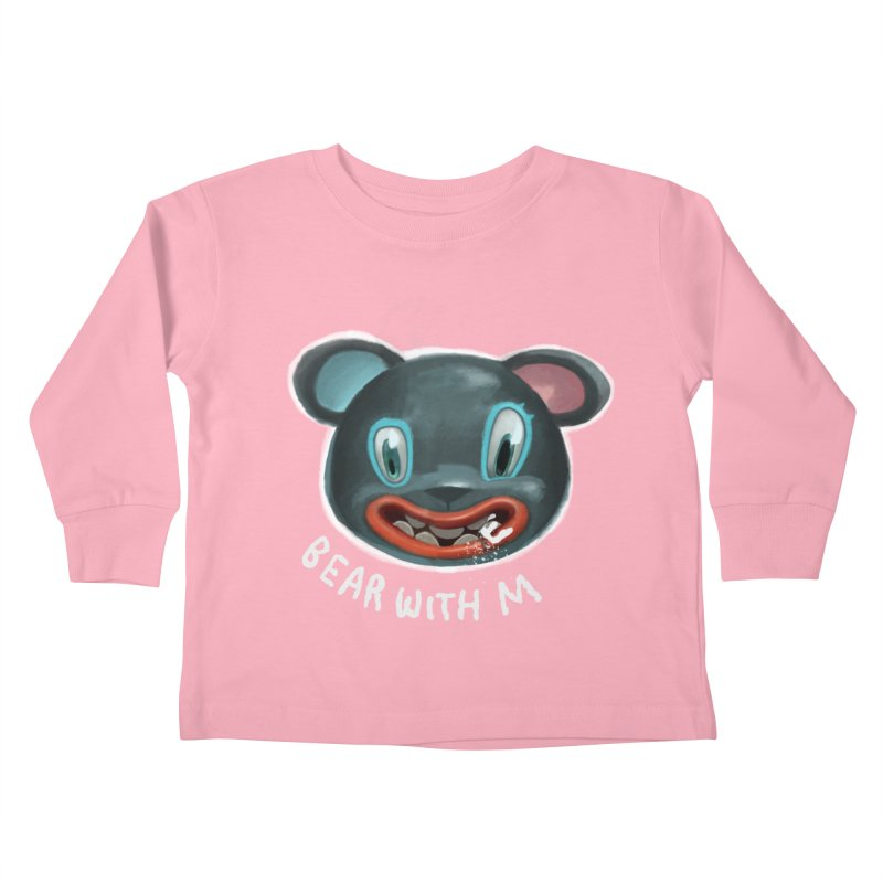 Bear with m Kids Toddler Longsleeve T-Shirt by fake smile