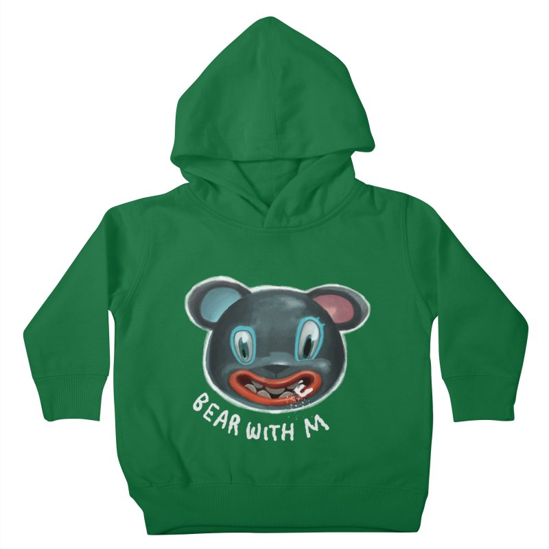 Bear with m Kids Toddler Pullover Hoody by fake smile