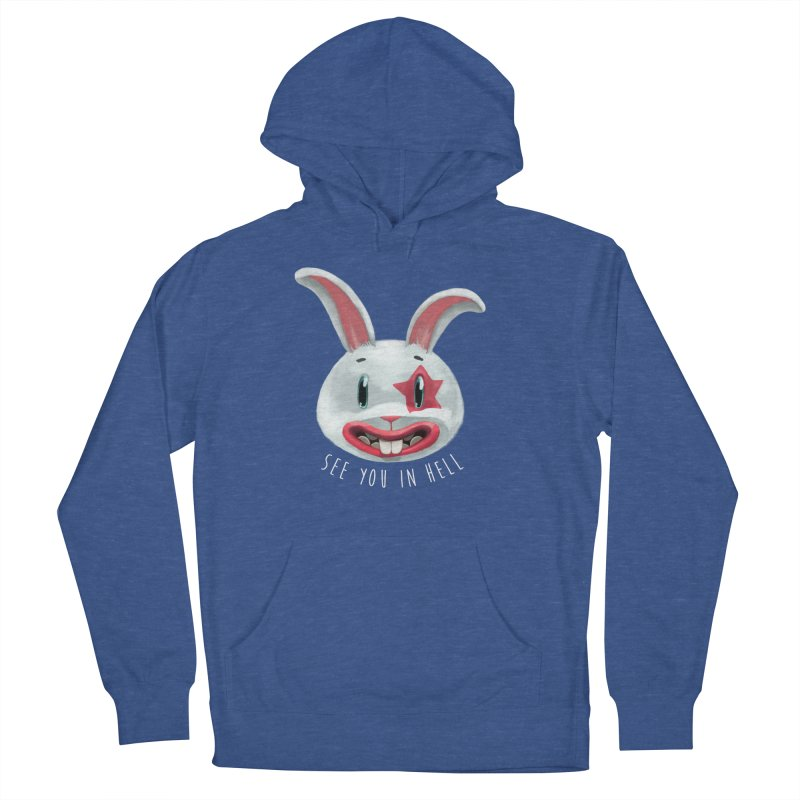 Bunny from hell Women's Pullover Hoody by fake smile