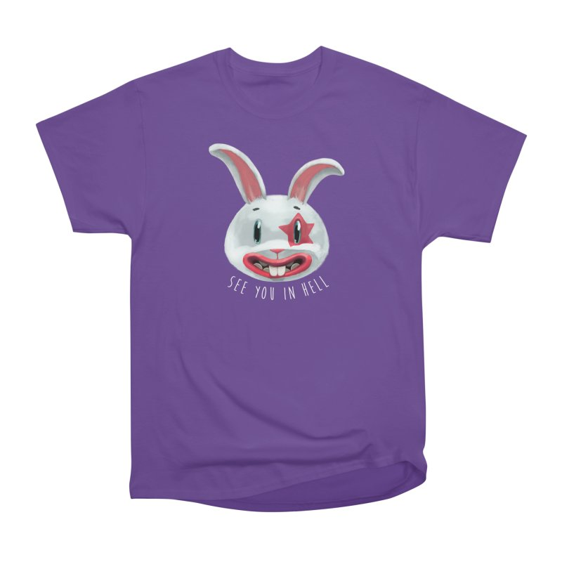 Bunny from hell Men's Classic T-Shirt by fake smile