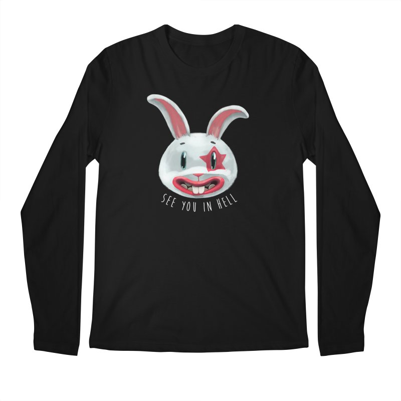 Bunny from hell Men's Longsleeve T-Shirt by fake smile