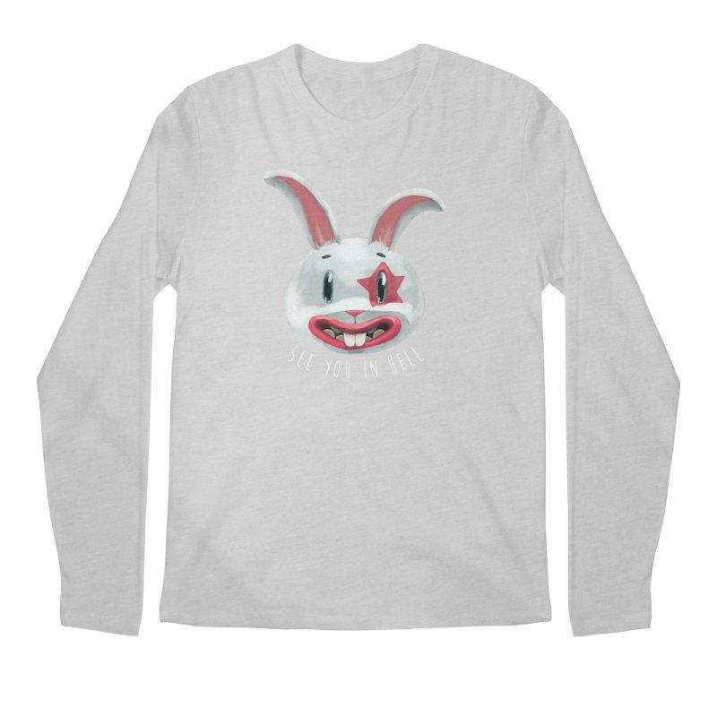 Bunny from hell Men's Regular Longsleeve T-Shirt by fake smile