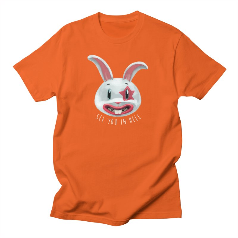 Bunny from hell Women's Unisex T-Shirt by fake smile