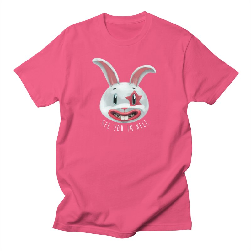Bunny from hell Men's T-Shirt by fake smile