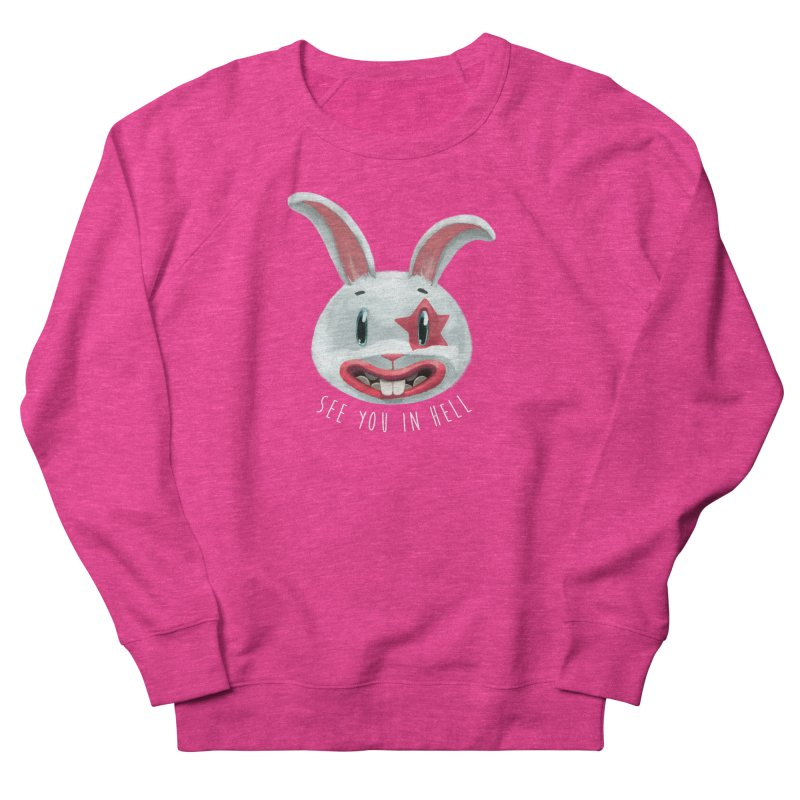 Bunny from hell Women's Sweatshirt by fake smile