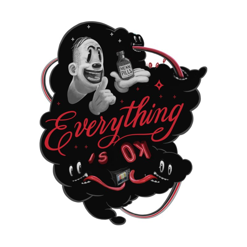 Everything is OK by fake smile
