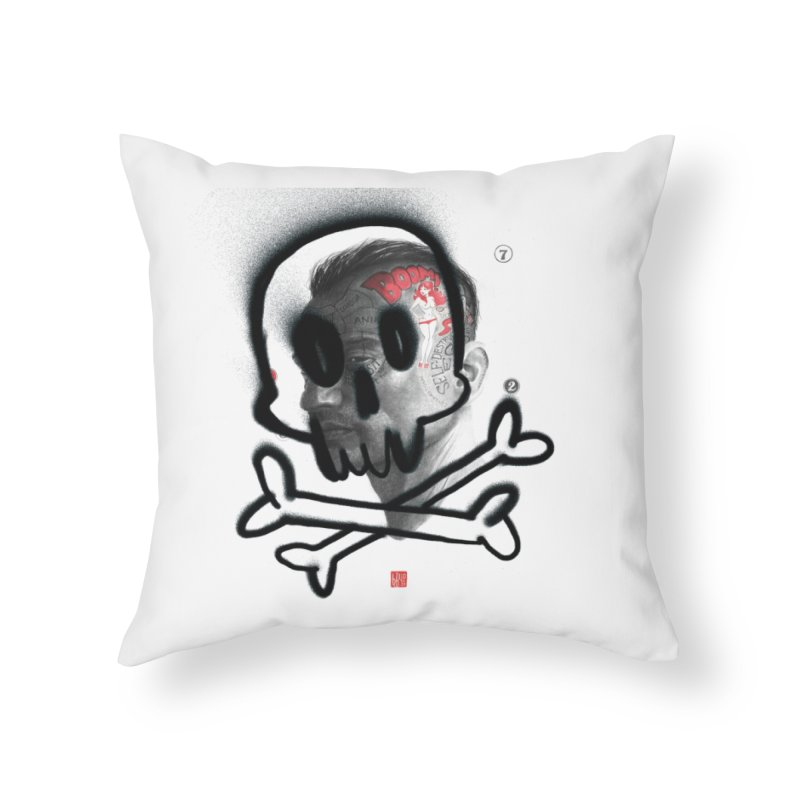 Death Home Throw Pillow by fake smile