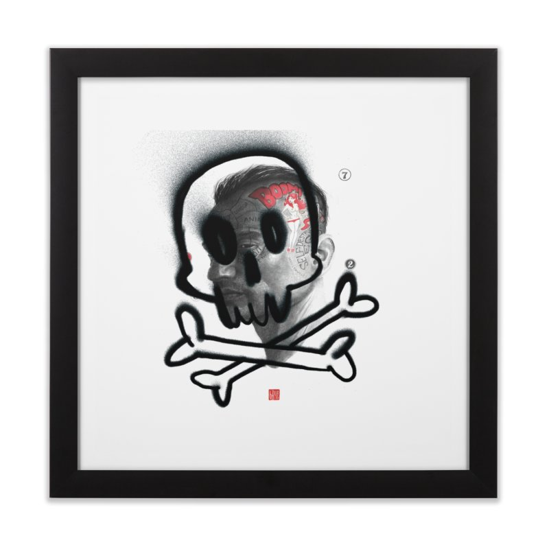 Death Home Framed Fine Art Print by fake smile