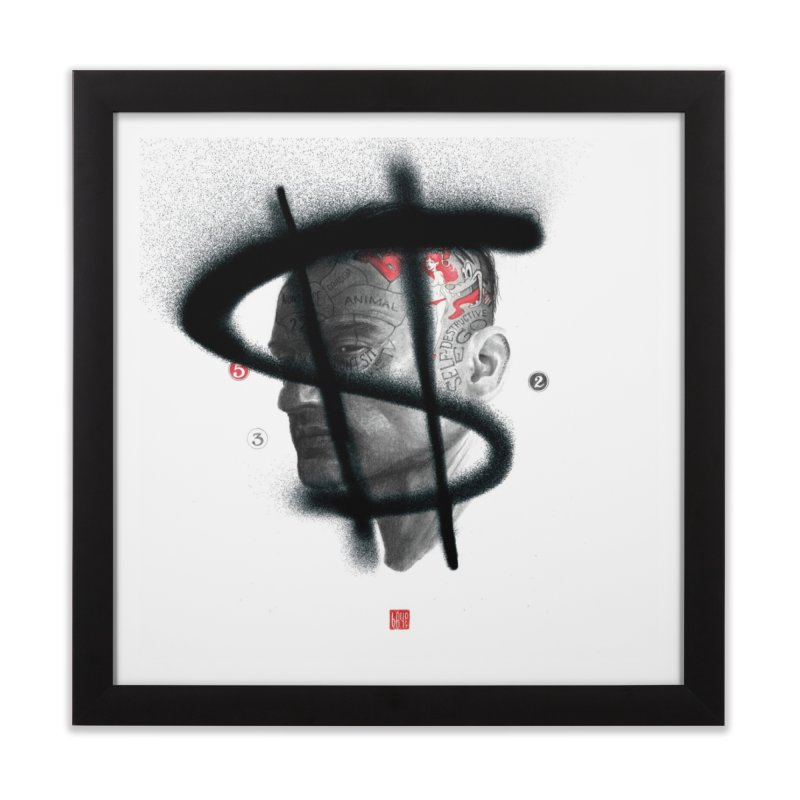 Money Home Framed Fine Art Print by fake smile