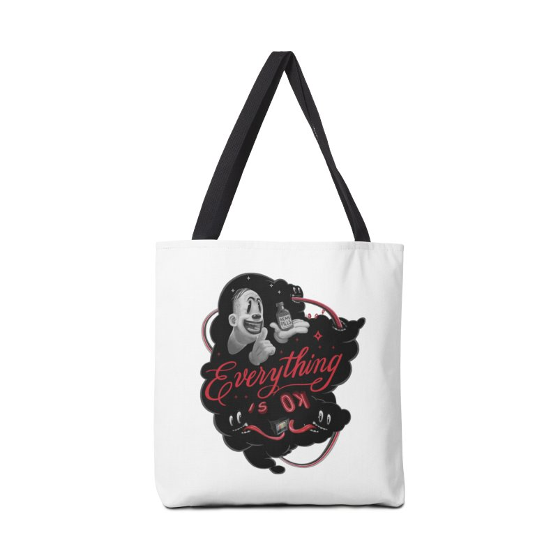 Ok tee Accessories Bag by fake smile