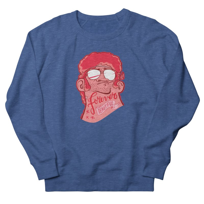 Forever Beautiful Men's Sweatshirt by fake smile