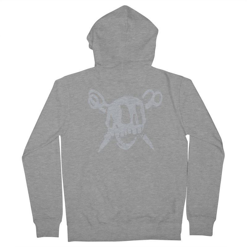 Skull Men's Zip-Up Hoody by fake smile
