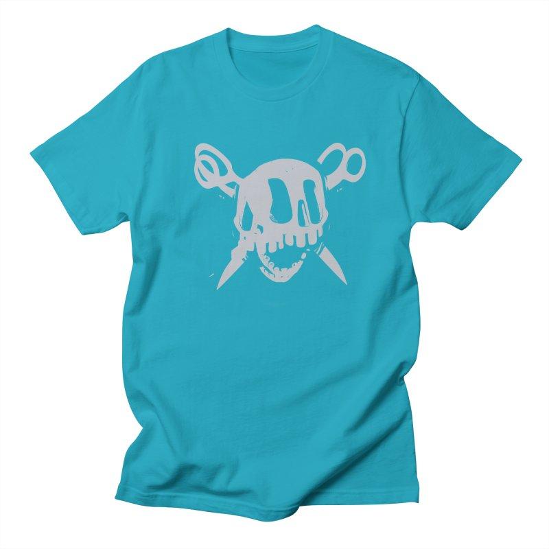 Skull Men's Regular T-Shirt by fake smile