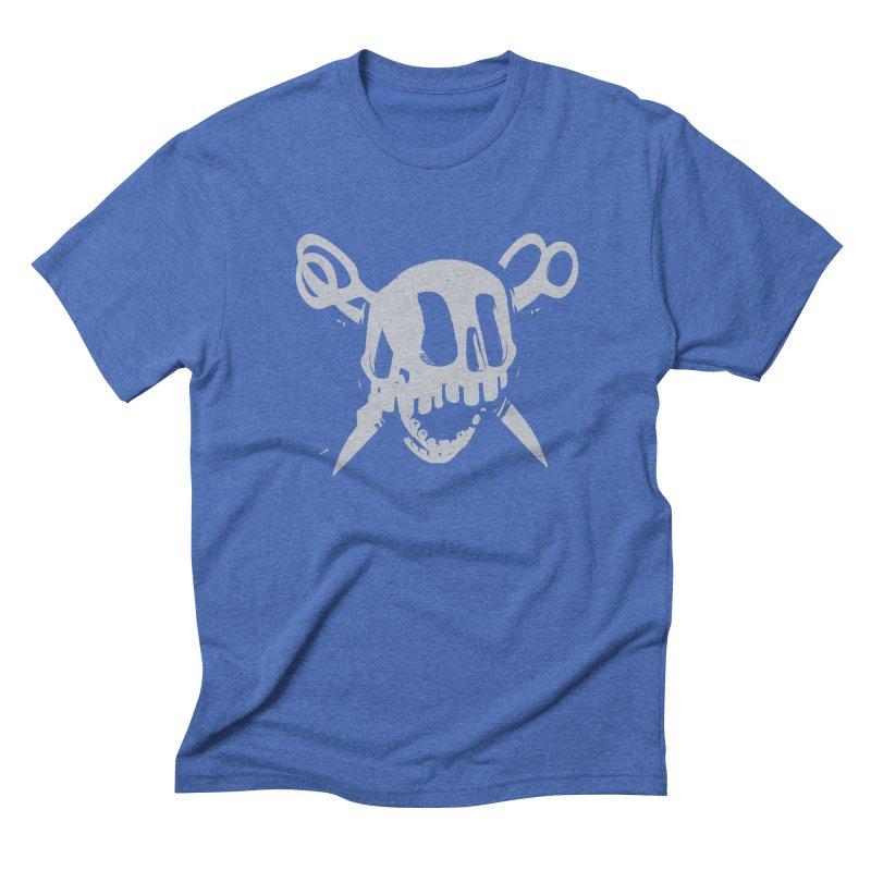 Skull Men's Triblend T-Shirt by fake smile