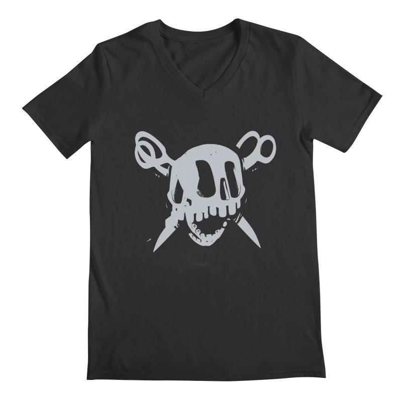 Skull Men's V-Neck by fake smile
