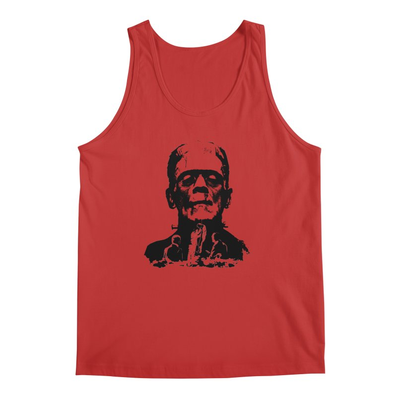 Even Monsters Have Breaking Points Men's Tank by Bazaar of the Bizzare