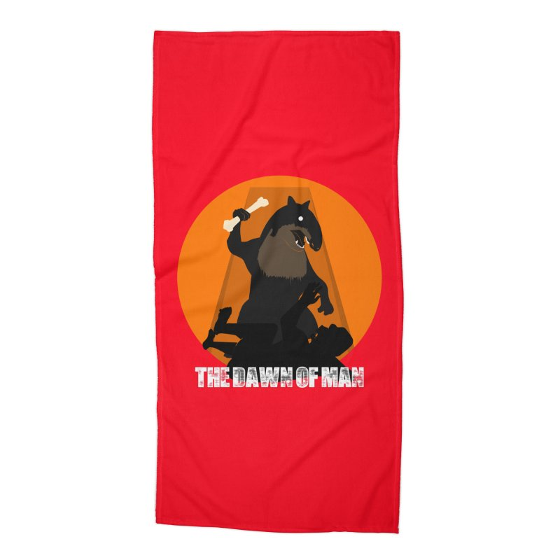Dawn of Man Accessories Beach Towel by Bazaar of the Bizzare