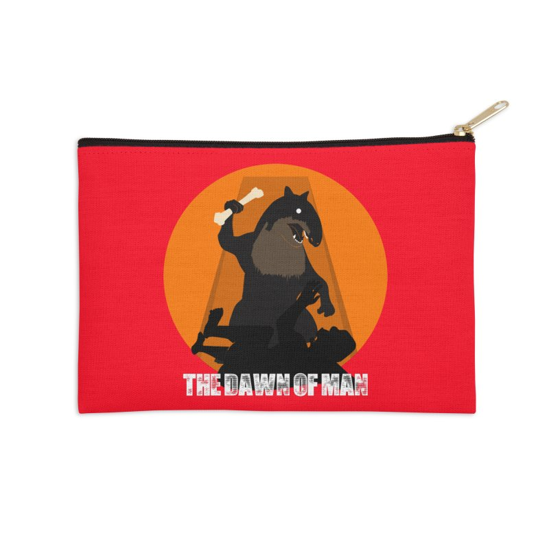 Dawn of Man Accessories Zip Pouch by Bazaar of the Bizzare