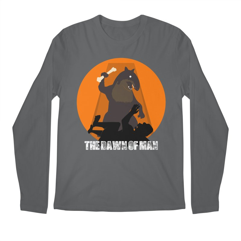 Dawn of Man Men's Longsleeve T-Shirt by Bazaar of the Bizzare