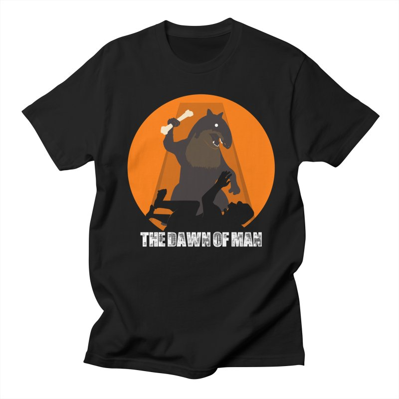 Dawn of Man Women's Unisex T-Shirt by Bazaar of the Bizzare