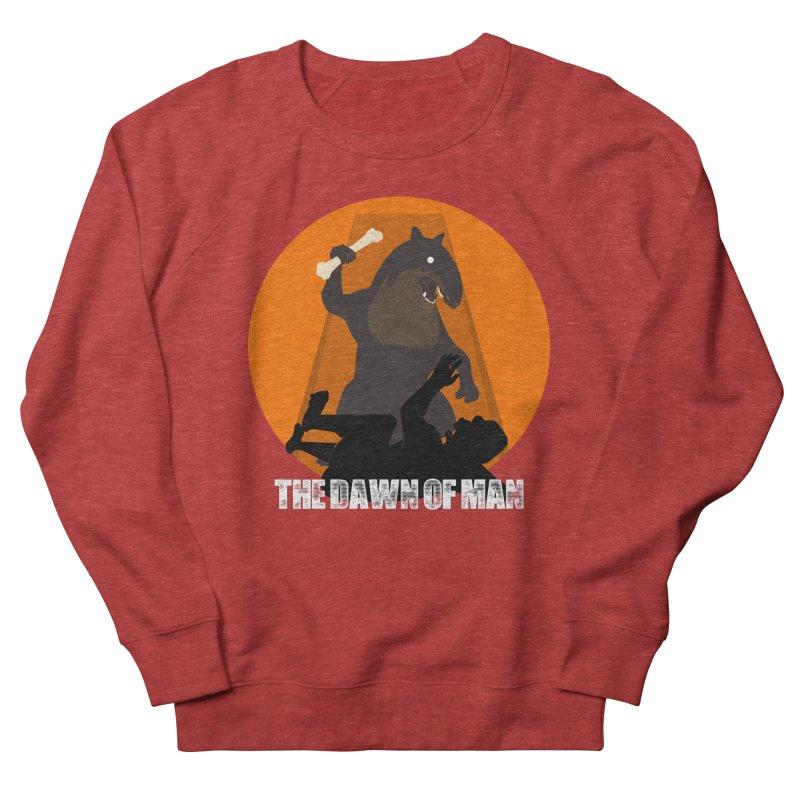 Dawn of Man Men's Sweatshirt by Bazaar of the Bizzare