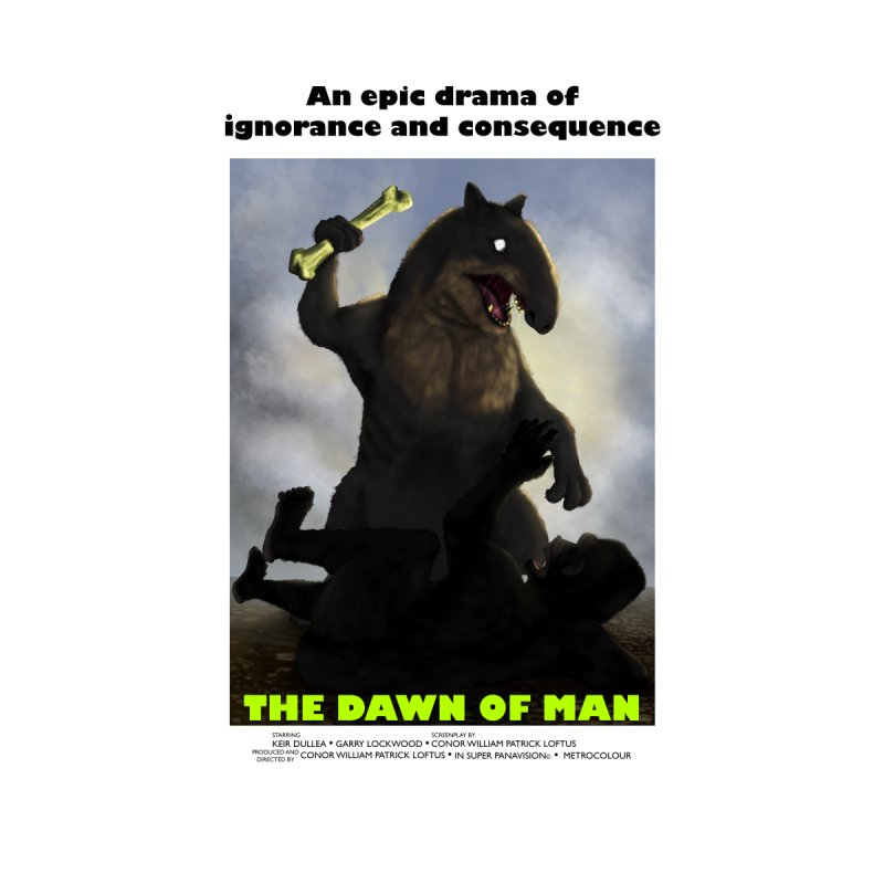 Dawn of Man Poster Home Framed Fine Art Print by Bazaar of the Bizzare