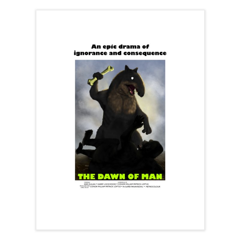 Dawn of Man Poster Home Fine Art Print by Bazaar of the Bizzare