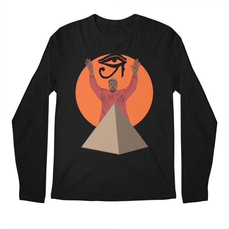 Yeezus Walks Men's Longsleeve T-Shirt by Bazaar of the Bizzare