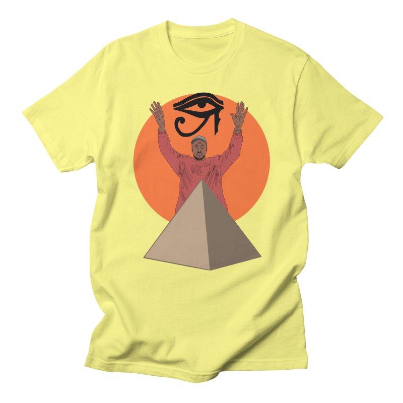 Yeezus Walks Men's T-shirt by Bazaar of the Bizzare