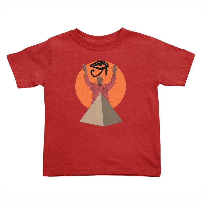 Yeezus Walks Kids Toddler T-Shirt by Bazaar of the Bizzare