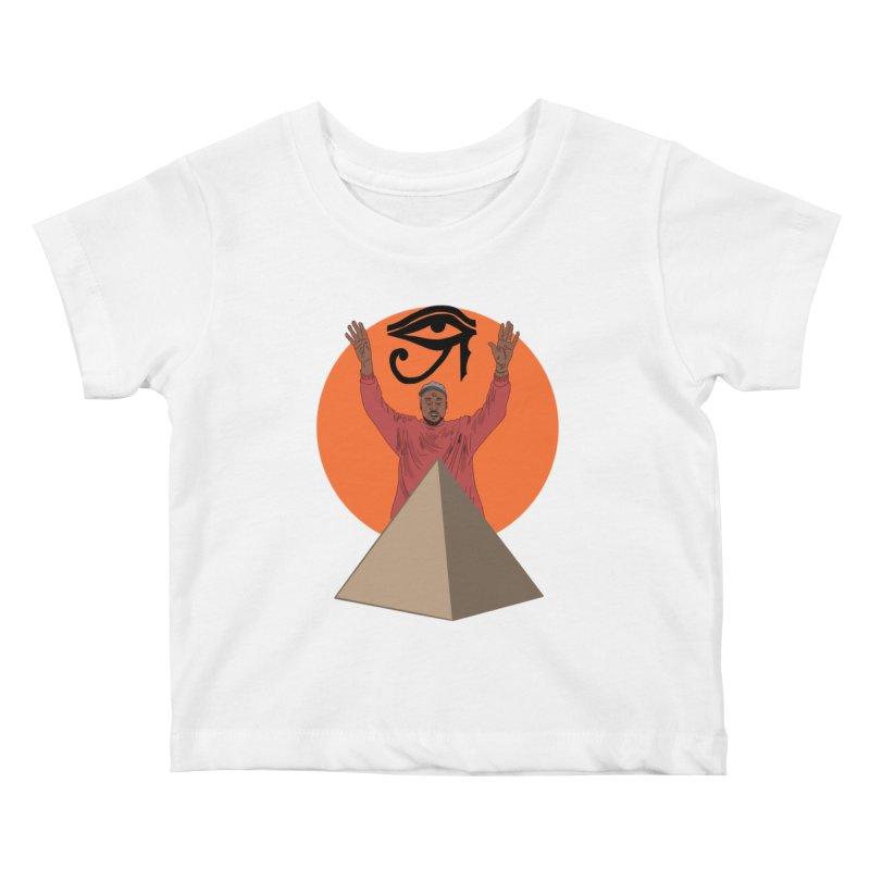 Yeezus Walks Kids Baby T-Shirt by Bazaar of the Bizzare