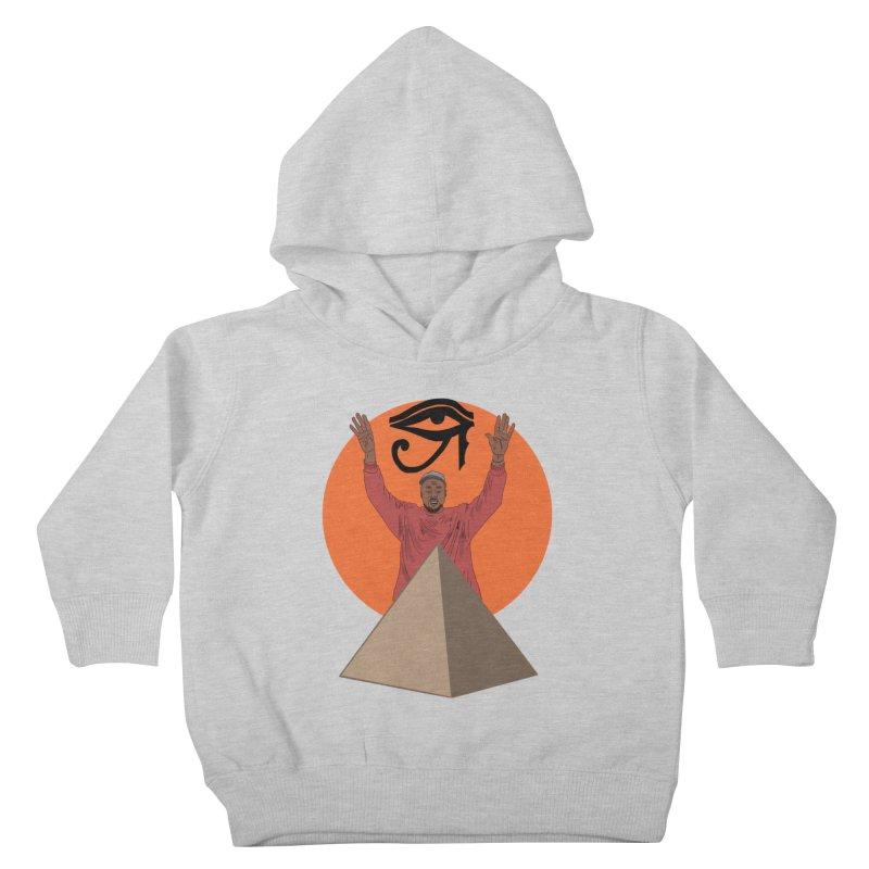 Yeezus Walks Kids Toddler Pullover Hoody by Bazaar of the Bizzare