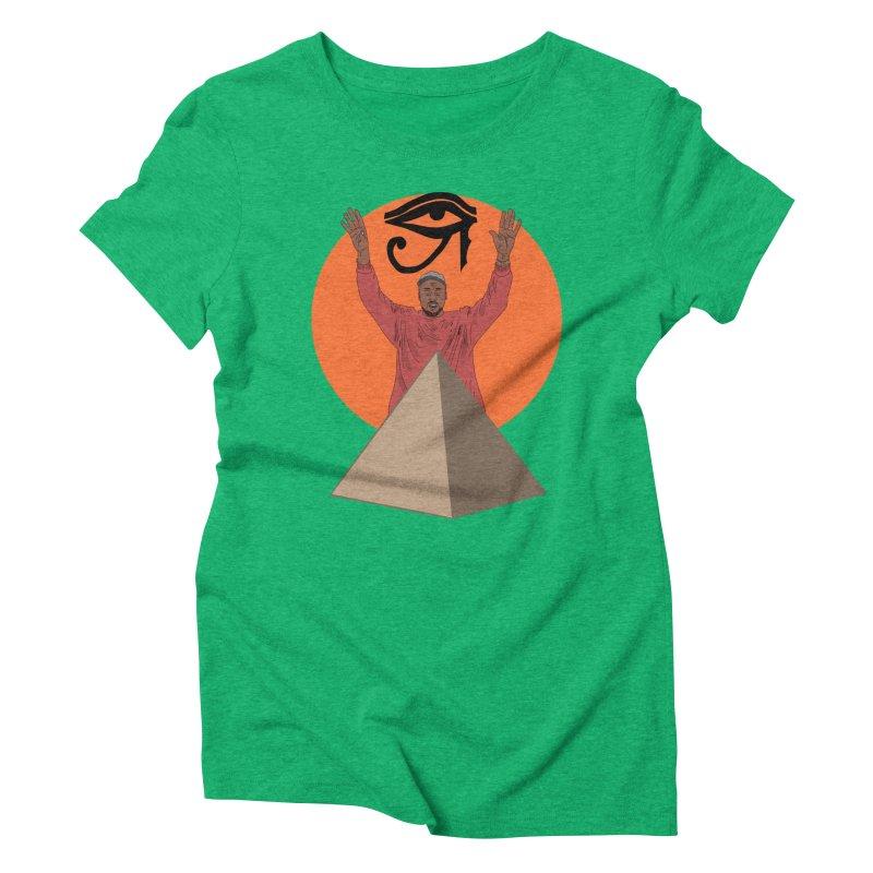 Yeezus Walks Women's Triblend T-Shirt by Bazaar of the Bizzare