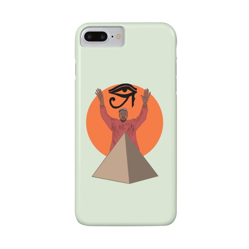 Yeezus Walks Accessories Phone Case by Bazaar of the Bizzare