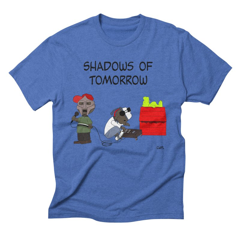 Shadows Of Tomorrow  Men's Triblend T-Shirt by Bazaar of the Bizzare