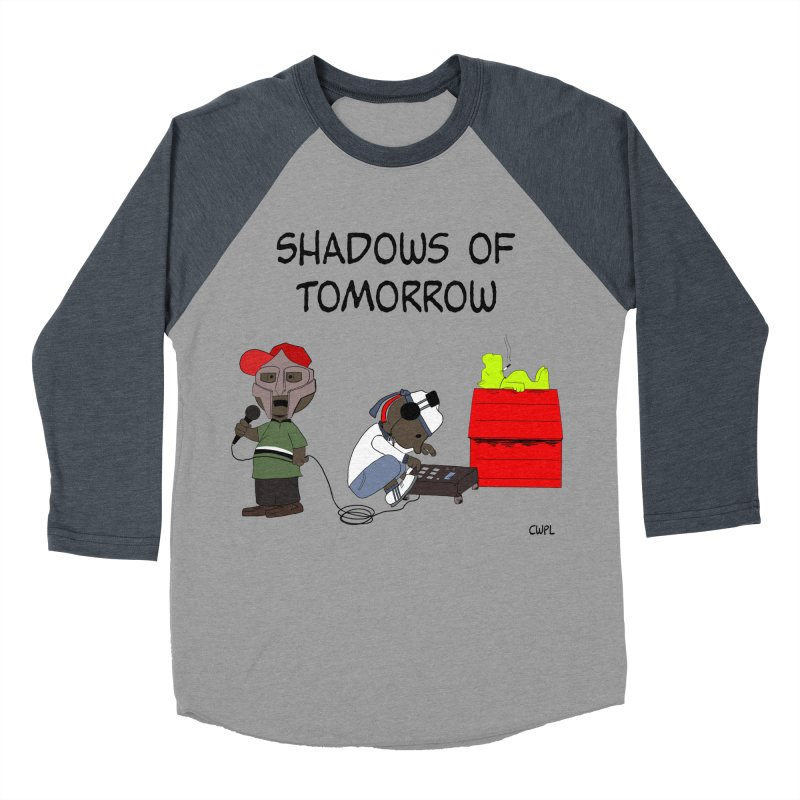 Shadows Of Tomorrow  Women's Baseball Triblend T-Shirt by Bazaar of the Bizzare