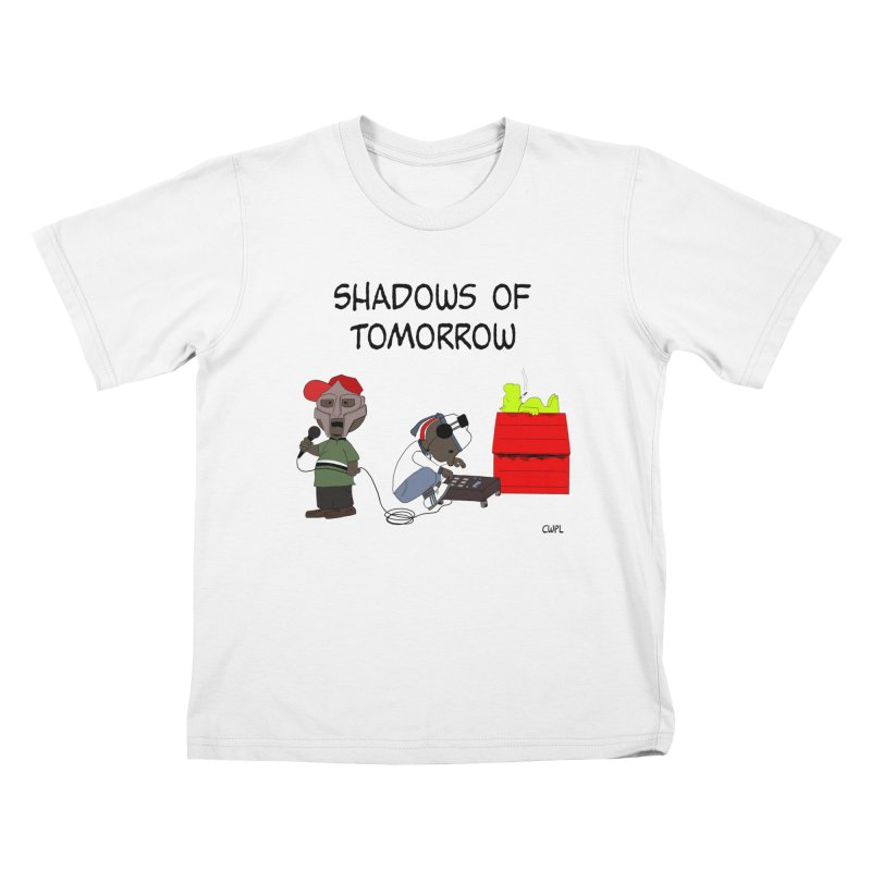Shadows Of Tomorrow  Kids T-Shirt by Bazaar of the Bizzare