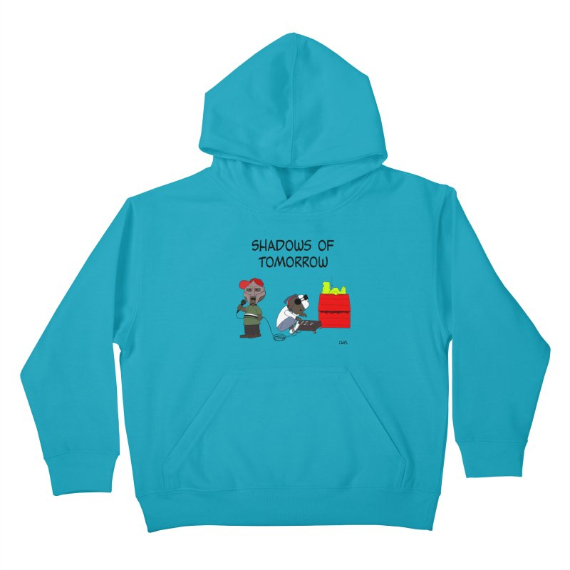 Shadows Of Tomorrow  Kids Pullover Hoody by Bazaar of the Bizzare