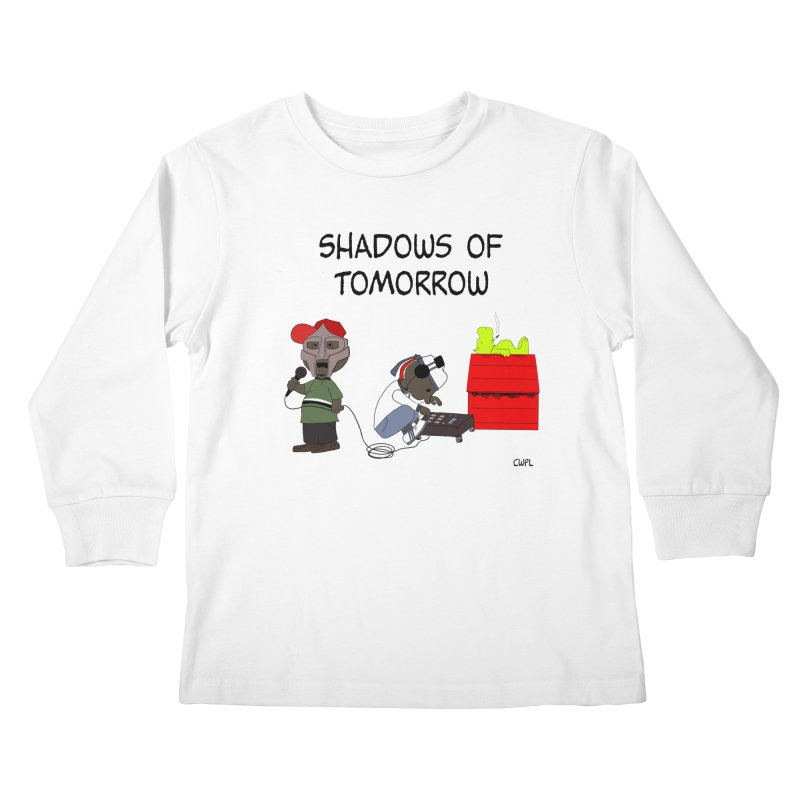 Shadows Of Tomorrow  Kids Longsleeve T-Shirt by Bazaar of the Bizzare