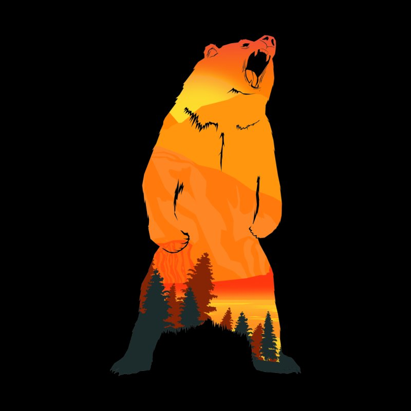 Grizzly Sunset by Bazaar of the Bizzare