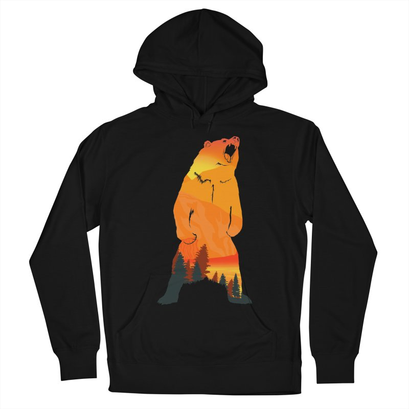 Grizzly Sunset Women's Pullover Hoody by Bazaar of the Bizzare