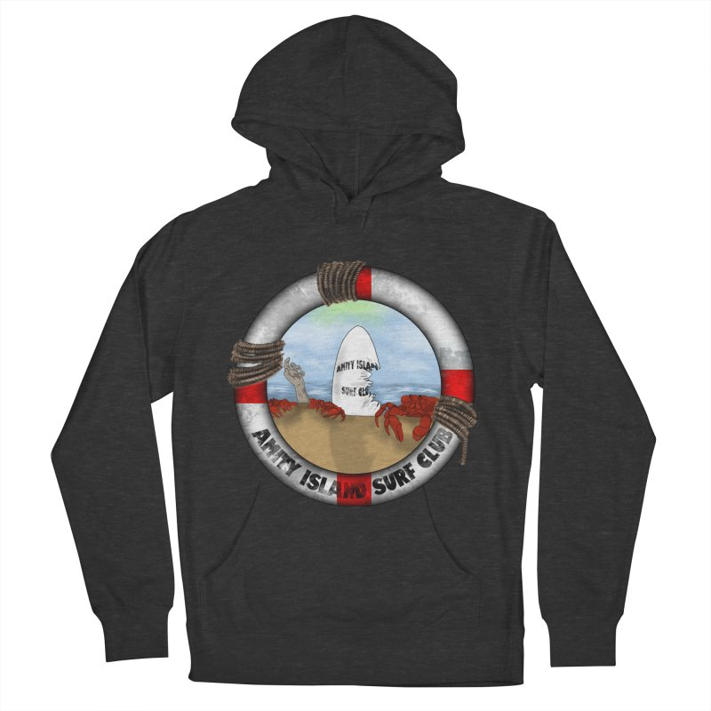 Amity Island Surf Club Men's Pullover Hoody by Bazaar of the Bizzare