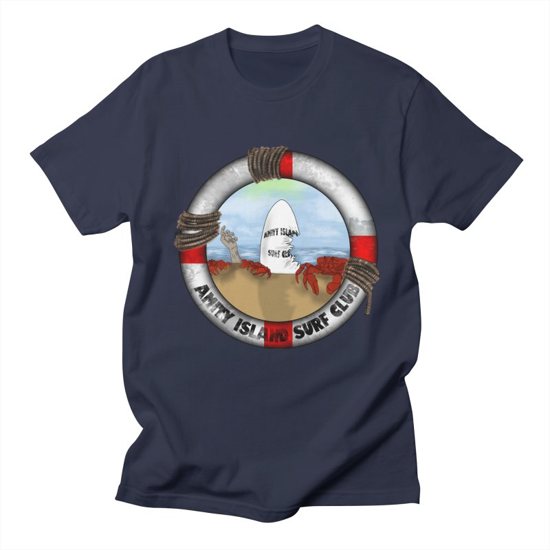 Amity Island Surf Club Men's T-Shirt by Bazaar of the Bizzare