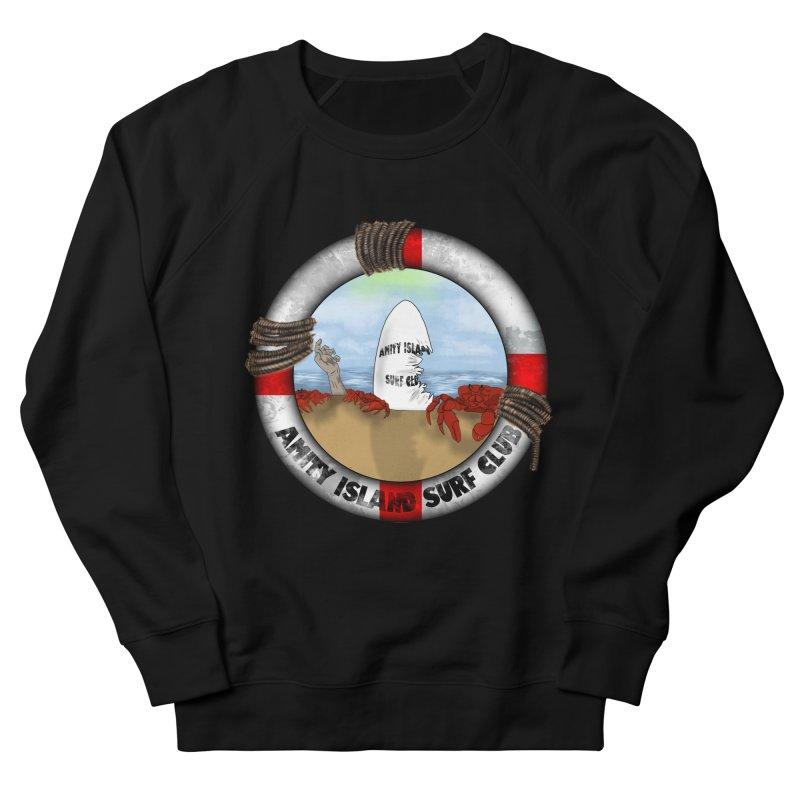 Amity Island Surf Club Men's Sweatshirt by Bazaar of the Bizzare