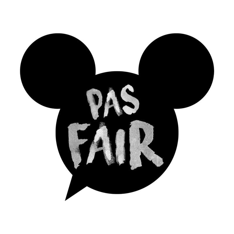 Pas Fair Mickey! None  by Bazlinz