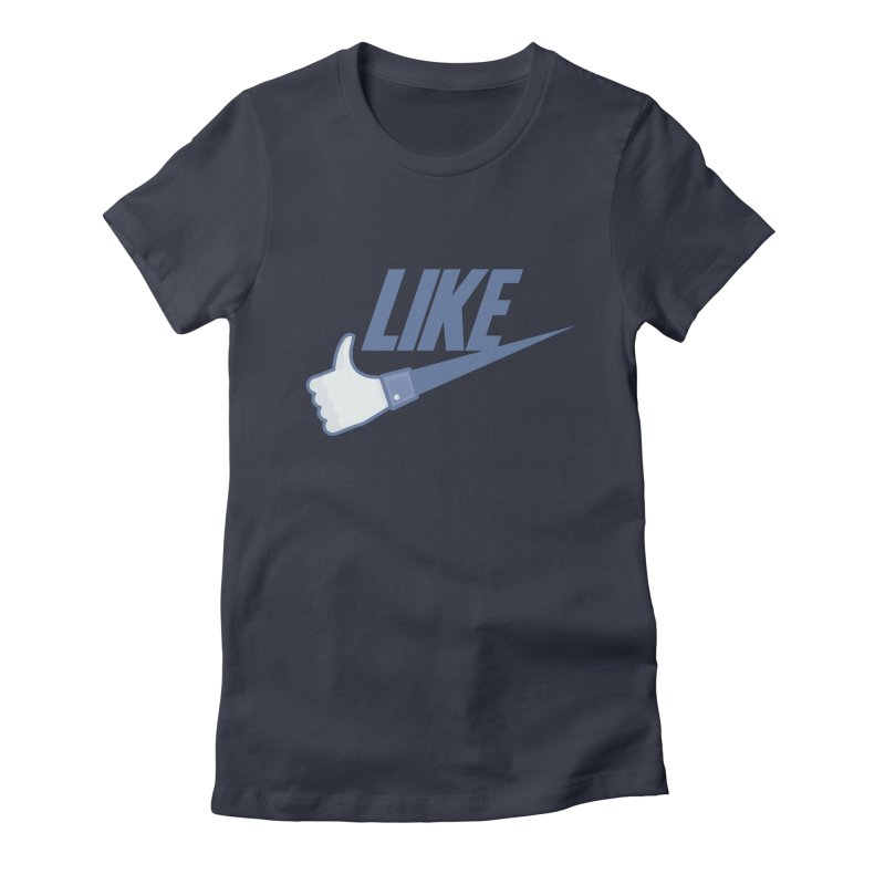 Like Women's Fitted T-Shirt by Bazlinz