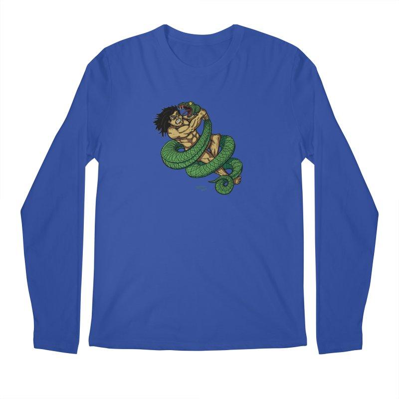 Battle Men's Regular Longsleeve T-Shirt by Baked Goods