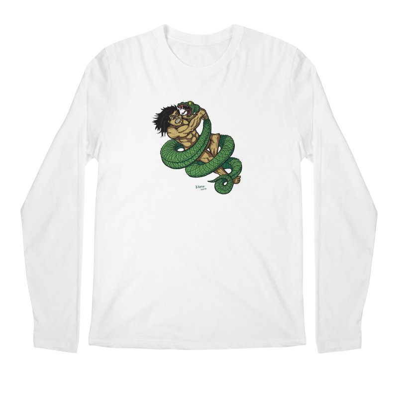 Battle Men's Longsleeve T-Shirt by Baked Goods